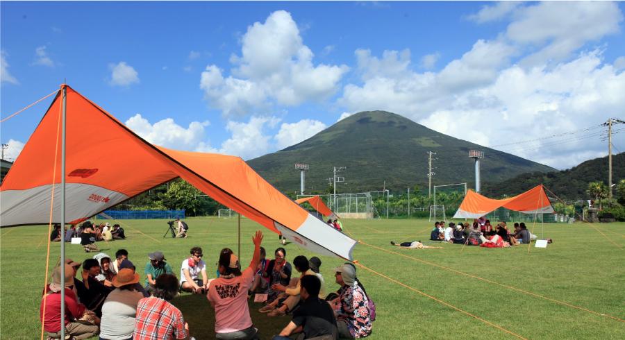 「第14回「ユニバーサルキャンプ in 八丈島」の写真