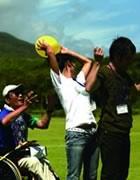 Photograph : Original ballgame with original rule.